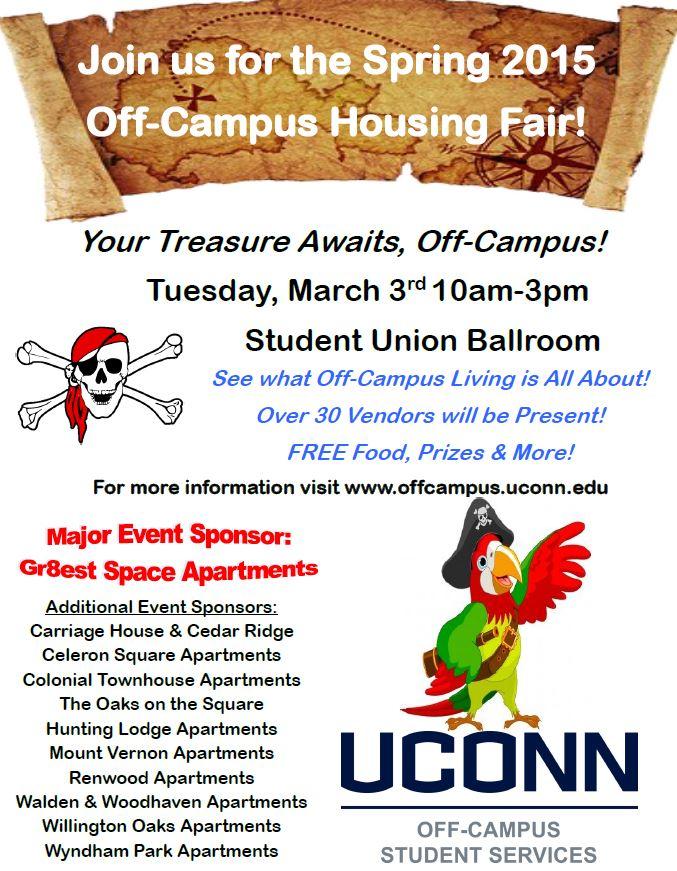 2015 Off-Campus Housing Fair