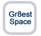 gr8est space logo