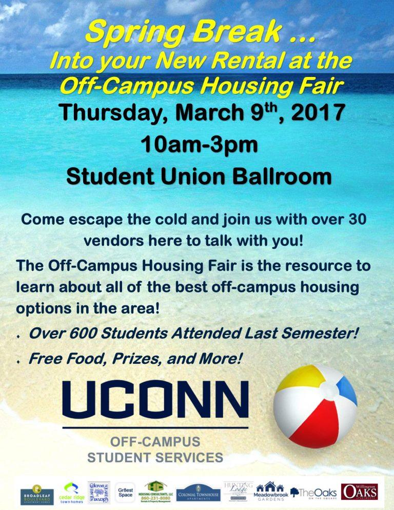 Off-Campus Housing Fair 2017
