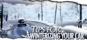 Prepare your car for Winter!