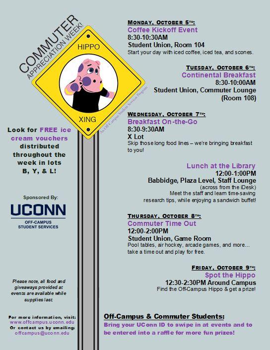 Commuter Appreciation Week 2015