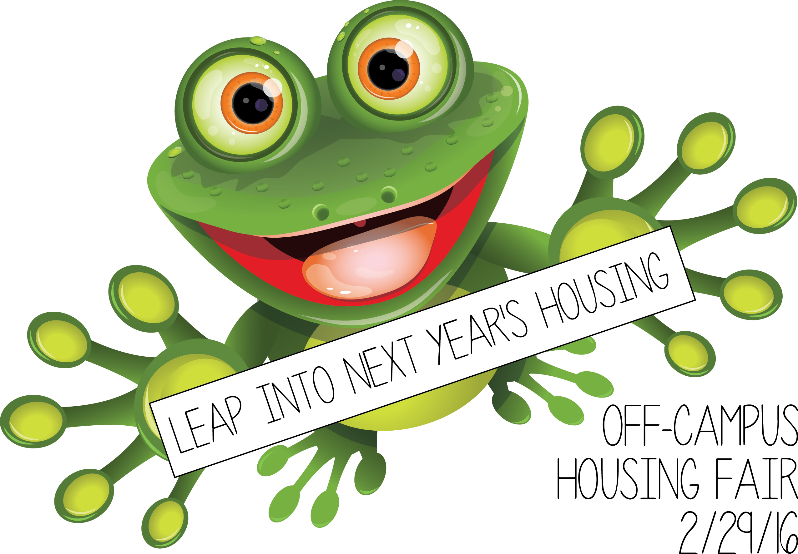 2016 Off-Campus Housing Fair Save the Date 2/29/16