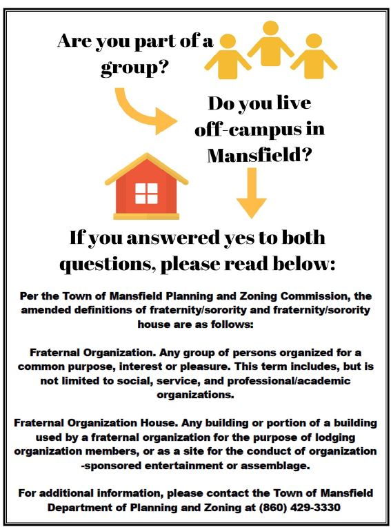 Renting as a Member of an Organization or Group in Mansfield?