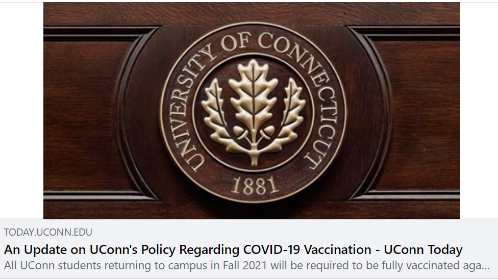 COVID-19 Immunization Record Requirement for Students